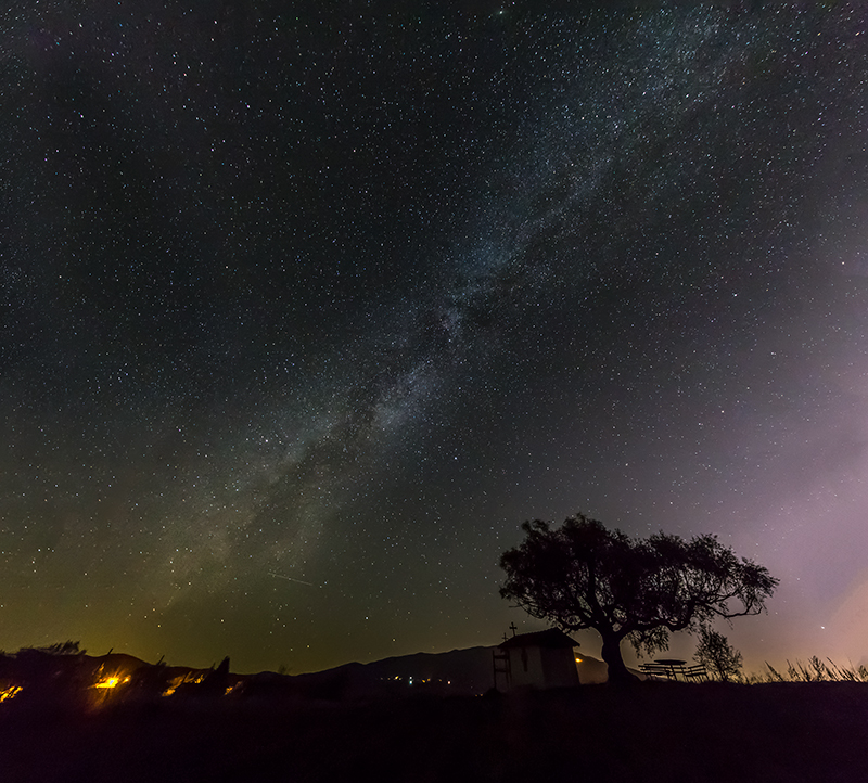 Astrophotography_Milky_way_panorama_Plana