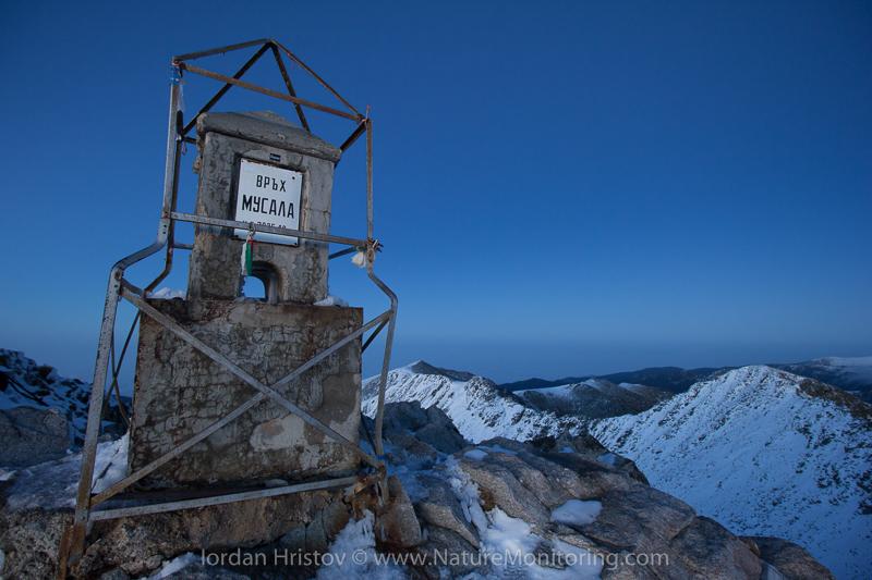 Musala peak, 2925 m