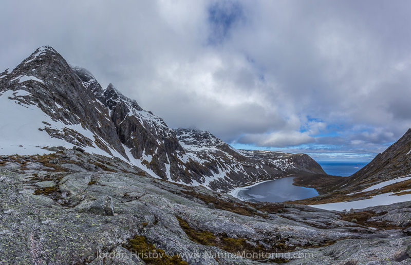 panorama from the end of the survey route  © Iordan Hristov