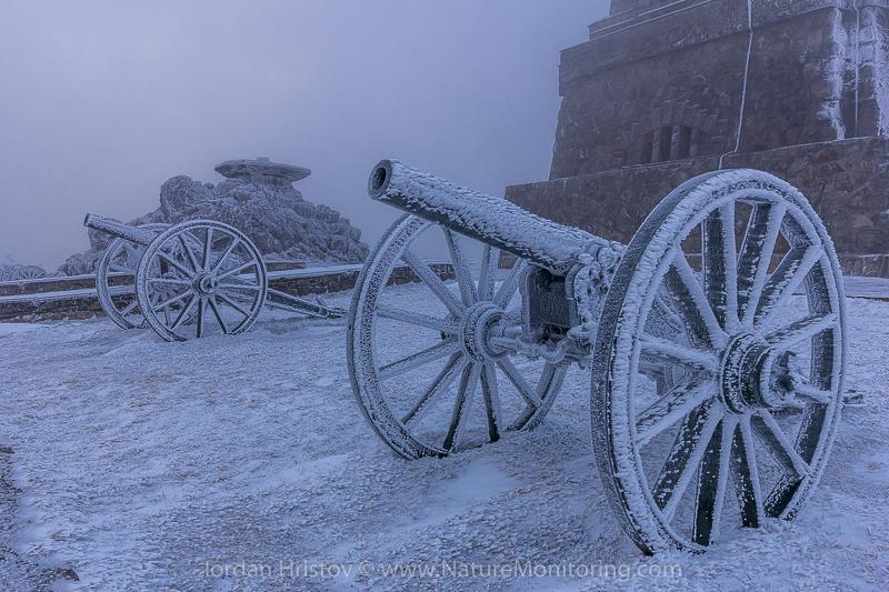 Cannons at Shipka