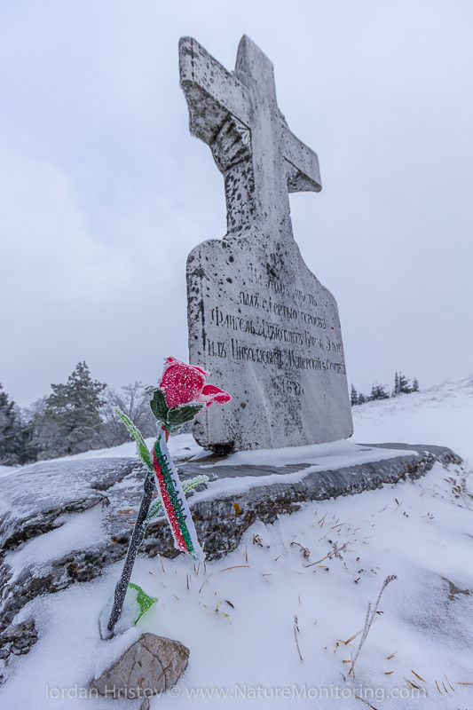 in commemoration of all the soldiers who died for Bulgaria's freedom