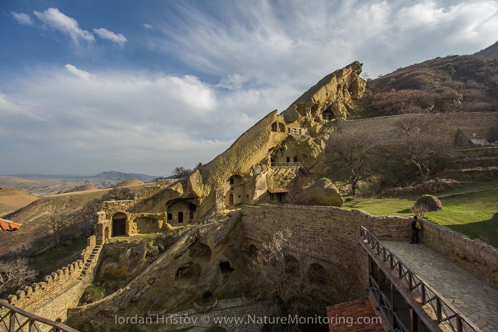 David Gareji rock monastery