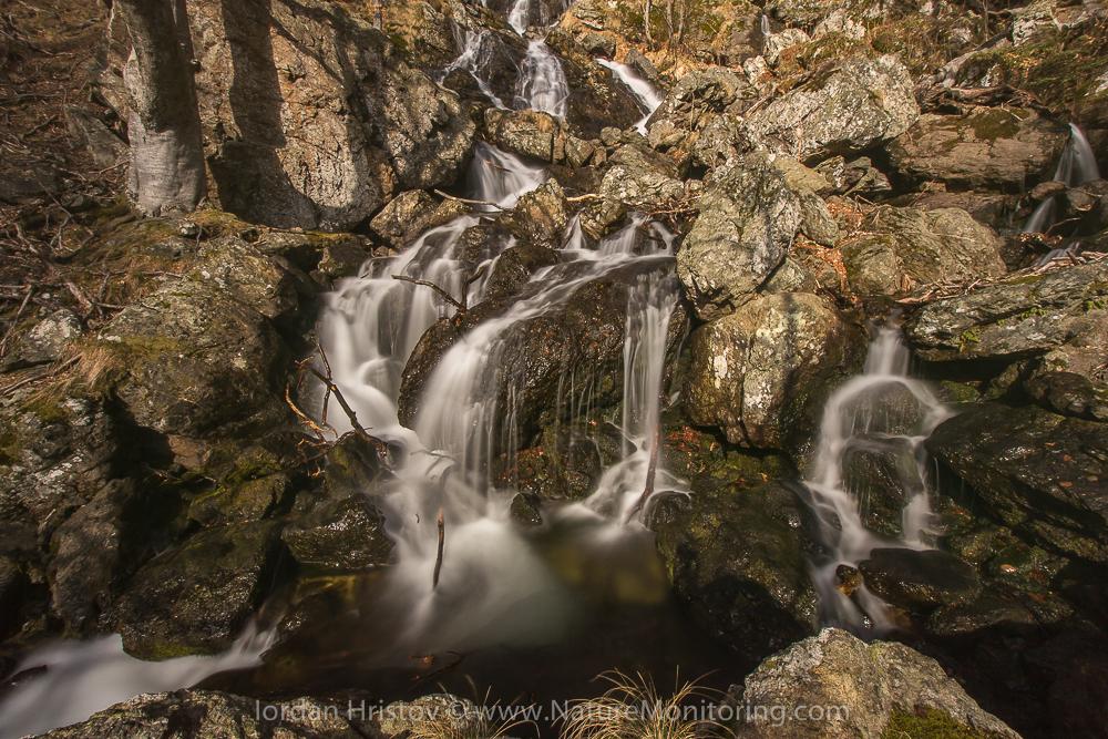 waterfall photography in Bulgaria © Iordan Hristov