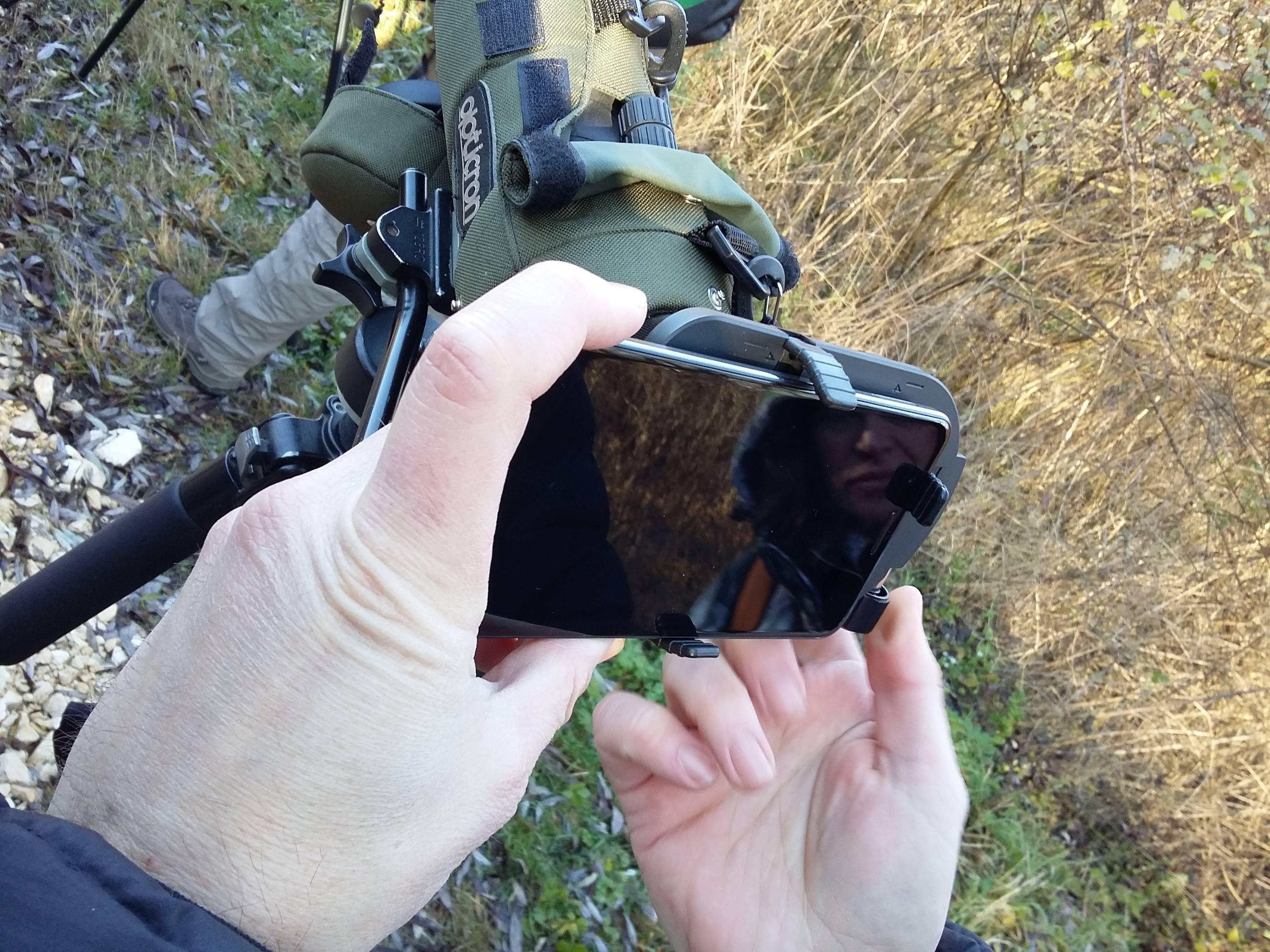 Настройване на камерата